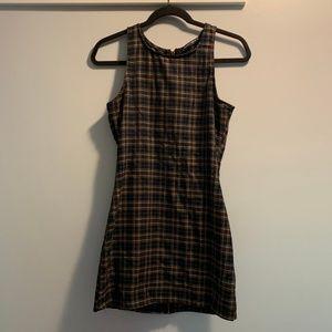 Plaid Brandy Melville Dress